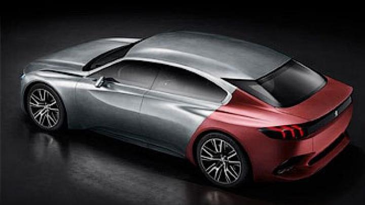 Peugeot показала хэтчбек с «акульей кожей» (ФОТО)
