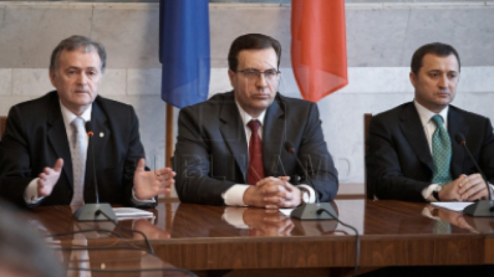 Лупу, Хадыркэ и Филат говорили о безопасности в регионе: «Украинские события происходят неподалеку от нашей страны»