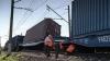 Машинист поезда Москва-Кишинев, попавшего в аварию, говорит, что применил экстренное торможение