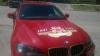 Неизвестные исцарапали BMW X6 с атрибутикой Дня Победы на капоте (ФОТО)