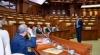 Спикеры парламентов Балтийских и Северных государств сажали в Кишиневе кустарники (ФОТО)