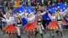 Блюдами национальной кухни, музыкой и танцами отметили День Европы на севере Молдовы