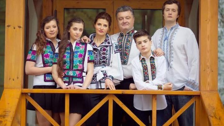 Знакомьтесь, семья избранного президента Украины Петра Порошенко