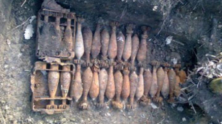 В Хынчештском районе обнаружен арсенал взрывоопасных объектов