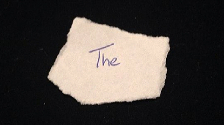 Клочок бумаги со словом из трех букв оценили в 40 тысяч долларов