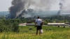 Горсовет: снаряд попал в купол церкви в Славянске, погибла девочка