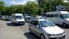 Опасный маневр столичной водительницы застал врасплох участников дорожного движения (ВИДЕО)