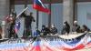 В Донецке сепаратисты атаковали воинскую часть Национальной гвардии Украины