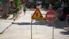 Четыре маршрутки проезжают по улице Колумна, которая закрыта на ремонт (ВИДЕО)