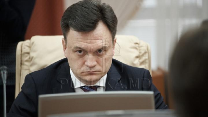 ПКРМ потребовала в парламенте отставки министра внутренних дел Дорина Речана