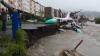 В Магадане два самолета-памятника смыло мощным циклоном (ВИДЕО)