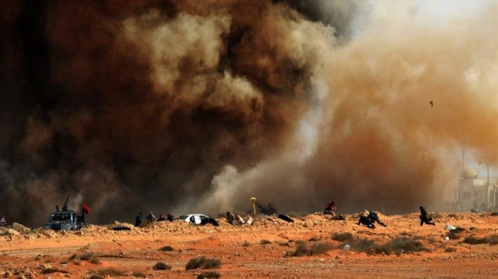 В Ливии в ожесточенных столкновнеиях погибли 16 человек