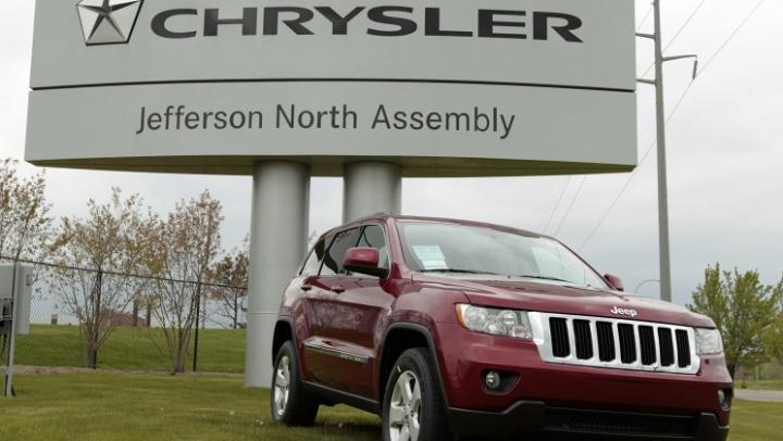 Chrysler отзывает почти 800 тыс. внедорожников Jeep из-за проблем с зажиганием