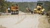 Начался ремонт участка трассы Кишинёв - Унгены, на который потратят 27 миллионов евро
