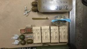 Член «Оплота» получил из Киева посылку с арсеналом оружия (ФОТО)