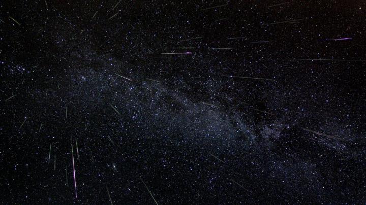 Метеорный поток Персеиды озарит ночное небо