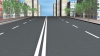 В столице водитель, не думая о безопасности других участников движения, пересекает двойную сплошную (ВИДЕО)
