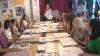 В столице прошел мастер-класс по росписи батика