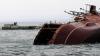 В Азовском море затонул катер береговой охраны, обстрелянный боевиками