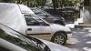 Группа жильцов многоквартирного дома на Рышкановке незаконно оградила часть тротуара для автомобильной стоянки