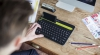 Logitech выпустила необычную клавиатуру