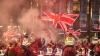 В Глазго произошли столкновения между сепаратистами и унионистами после референдума о независимости Шотландии