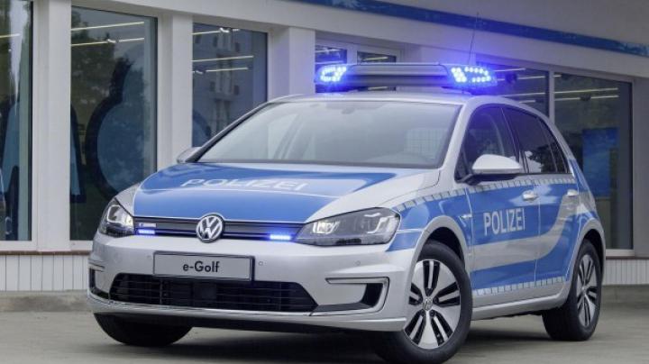 Представлен электрический e-Golf от Volkswagen для полиции (ФОТО)