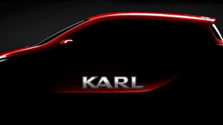 Его зовут Karl: анонсирован самый крохотный хэтчбек Opel