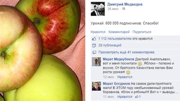 Медведев порадовался растущему числу своих подписчиков в Facebook