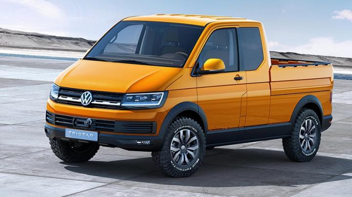 Volkswagen представил первый пикап с двойным дном