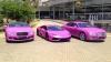Bentley и Lamborghini борются с раком груди розовым цветом