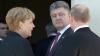 Меркель призвала Путина принять меры по скорейшему разрешению газовой проблемы с Украиной