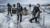 Рок-группа из Великобритании использовала айсберг в качестве сценической площадки