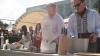 День вина в центре Кишинева: министр сельского хозяйства приготовил угощения