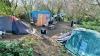Румынские мигранты основали лагерь на севере Лондона