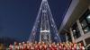 Корея демонтировала башню в виде елки на границе с КНДР