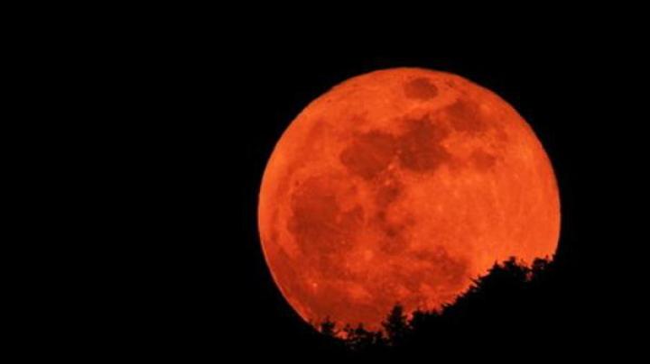«Кровавая Луна» появится в небе 8 октября