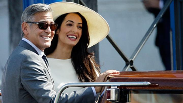 Джордж Клуни и Амаль Аламуддин повторно сыграли свадьбу в Великобритании