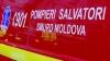 (ВИДЕО) Пожар в бельцкой пятиэтажке: мужчина отравился угарным газом