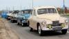 Члены и сторонники ПКРМ отметили годовщину Октябрьской революции автопробегом на ретро-автомобилях