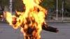В Болгарии женщина подожгла себя возле президентского дворца