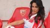 Сербскую телеведущую не раз выгоняли с футбольного поля из-за красоты