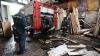 Два пожарных погибли в Теленештах во время тушения магазина стройматериалов