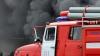 В Липецке сгорел автомобиль главного пожарного области