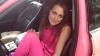 В Москве женщина на розовом Jaguar задавила мужчину