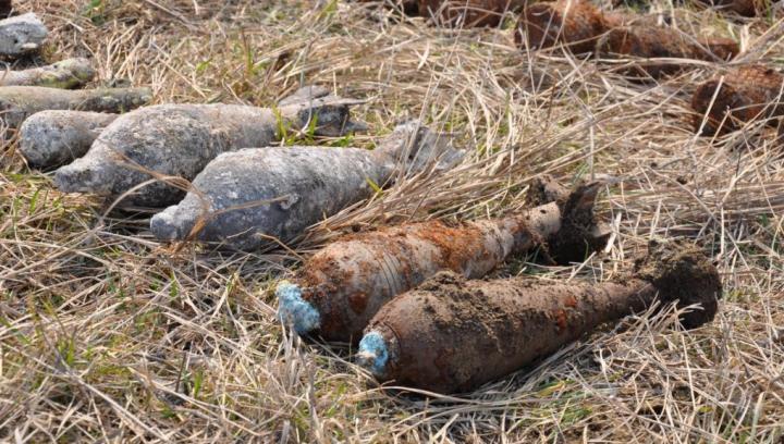 В Бельцах при прокладке газопровода обнаружили снаряды времен ВОВ