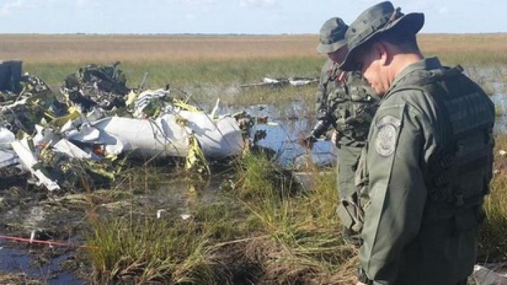 В Венесуэле сбит неопознанный самолет
