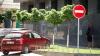 Пешеходная улица в Кишиневе превратилась в стоянку для машин