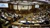 Жесткие реплики на первом заседании парламента ХХ созыва