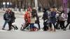 В Кишиневе девушку, переходившую дорогу, сбила машина (ФОТО)